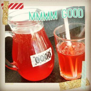 rabarber limonadesiroop